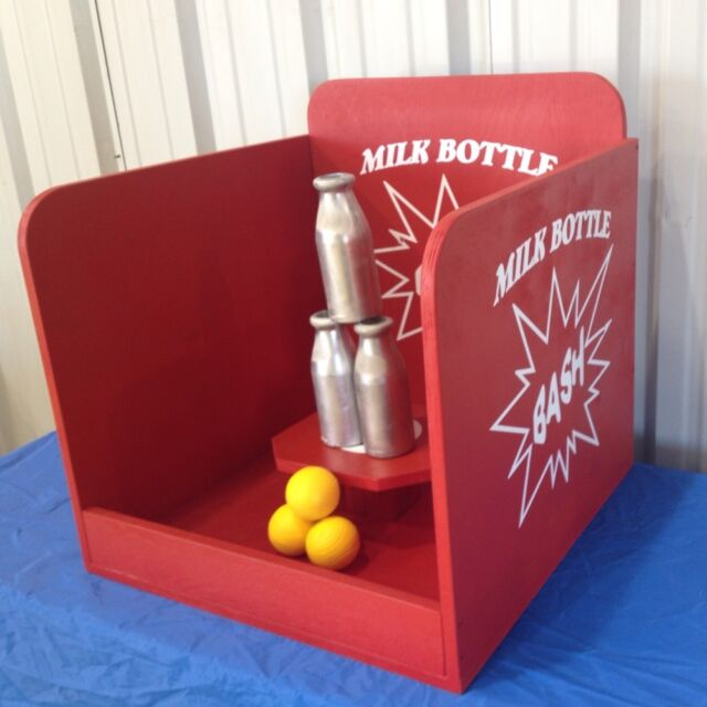 Milk Bottle Toss Baseball Carnival Game For VBS Or School Party