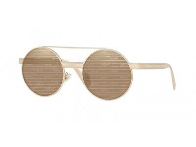 Occhiali da Sole Versace Autentici VE2210 14557P oro marrone specchiato