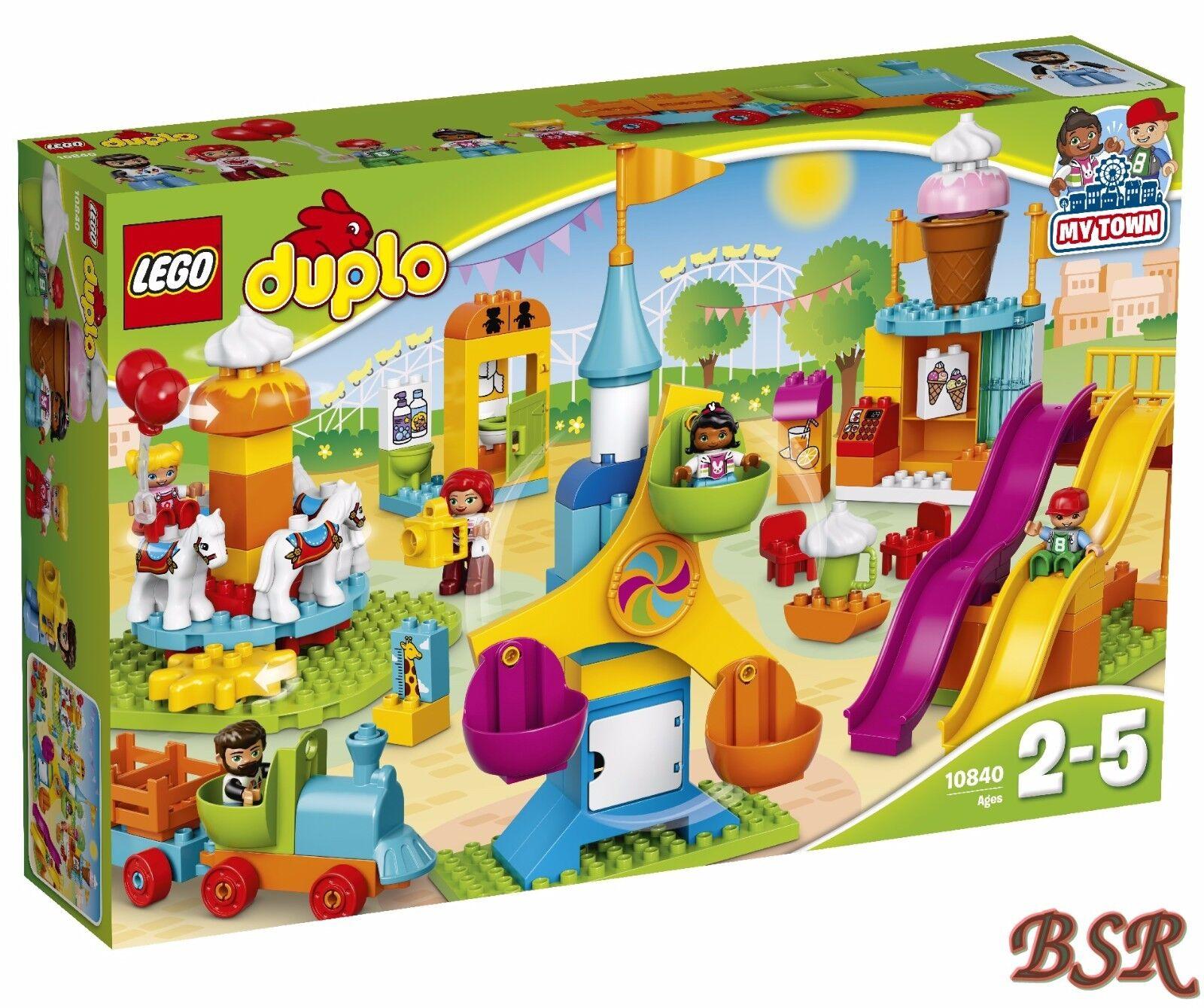 LEGO ® DUPLO ®  10840 Grand Fête Foraine & 0. - expédition & neuf dans sa boîte & NOUVEAU