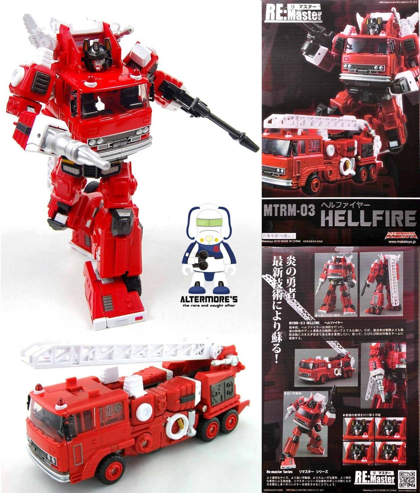Transformers Masterpiece Maketoys MTRM-03 HELLFIRE aka MP Inferno MISB