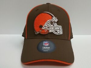 b68409894 YOUTH Cleveland Browns Cap Team Apparel Stretch Fit 8-20 Fitted Hat ...