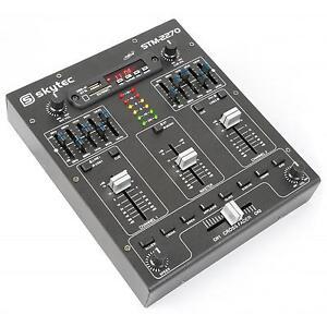 4-KANAL-MIXER-DJ-MISCHPULT-BLUETOOTH-USB-amp-SD-MP3-5-BAND-EQUALIZER-SOUND-EFFEKTE