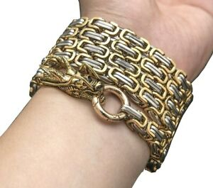 Silver Self Defense Weapon Martial Arts Hand Bracelet Chain Outdoor Camping