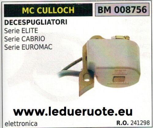 241298 BOBINA DECESPUGLIATORE McCULLOCH SERIE ELITE CABRIO EUROMAC