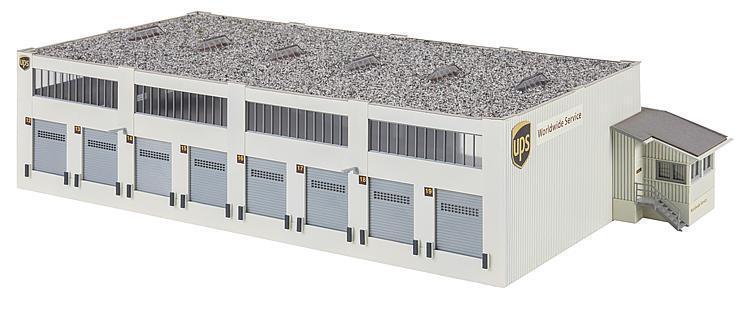 marcas de diseñadores baratos Faller 130785 ESCALA H0 Kit Kit Kit Construcción logistikhalle UPS  para mayoristas