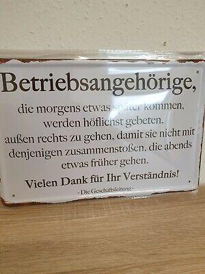 Blechschild 28x12 BUNKER Hinweis Deko Schild Weltkrieg Deutsches Reich Bar Haus