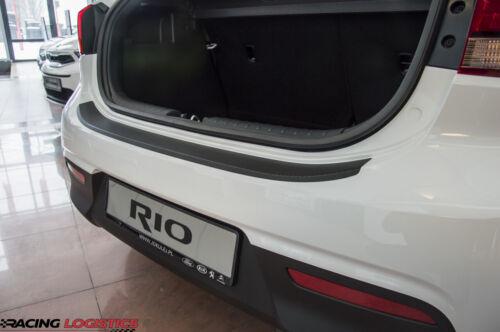KIA RIO 4 HATCHBACK CARBON 3M VINYL REAR BUMPER TRIM PROTECTOR IV 2017-2019