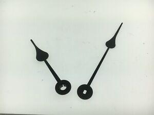 New Spade Clock Hands For Antique Clocks 7 To 8 Dial Ebay