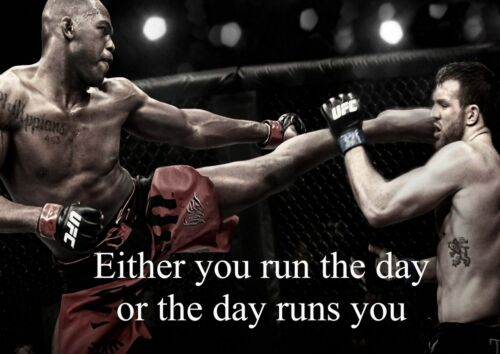 4 Mixed Martial Arts Motivation Inspiration Sport Quote Poster Boxing Fight