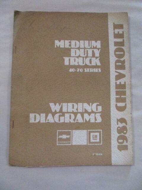 1983 CHEVROLET MEDIUM DUTY TRUCK 40-70 SERIES WIRING ...