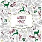 Winter Magic: Beautiful Holiday Patterns Coloring Book for Adults by Barron's Educational Series (Paperback / softback, 2015)