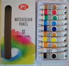 10 Assorted Tubes Spectrum Acrylic Paints 12 Ml E