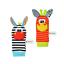miniature 8 - Baby Sensory Toys Pied-Finder Chaussettes Poignet Hochets Set Bracelet Cadeaux Chaussette Hiver