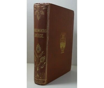 Wordsworth - GREECE pictorial descriptive and historical 1859 Murray engravings