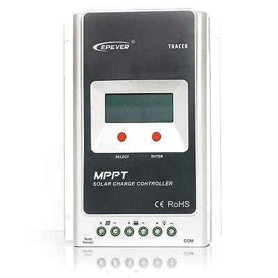 EPsolar 10A/20A/30A 40A MPPT Solar Panel Charge Controller Regulator OR TN50 TN