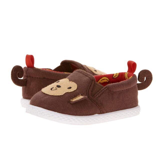 Baby Boy's Canvas Monkey Slip-On Shoe, NWT, Size 2,4 & 5 ...