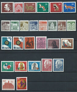 Allemagne-RFA-Annee-1967-Neuf-MNH-Complete