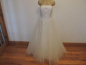 Mori Lee Tulle Ball Gown Wedding Dress