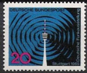 Marque Populaire Bund Nº 481 ** Exposition 1965, Cachet-g 1965, Postfrischfr-fr Afficher Le Titre D'origine