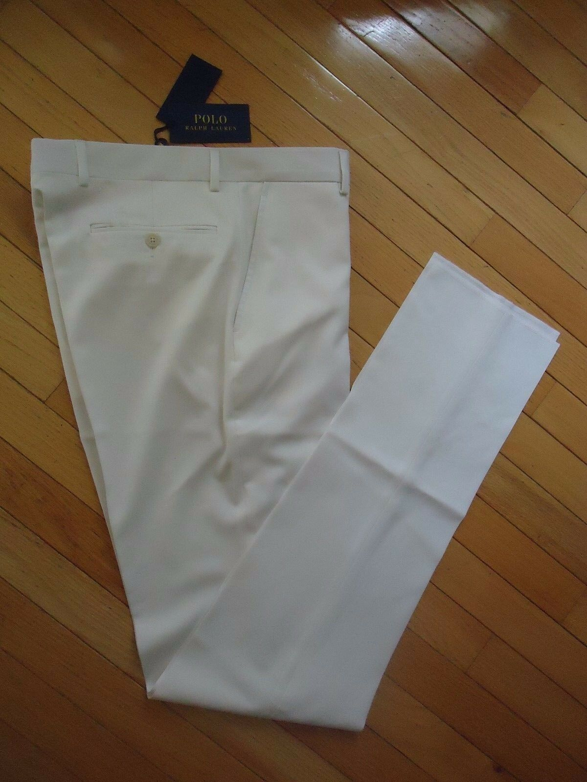 +++NWT  POLO RALPH LAUREN MADE IN ITALY 100% WOOL PANTS SZ 30+++