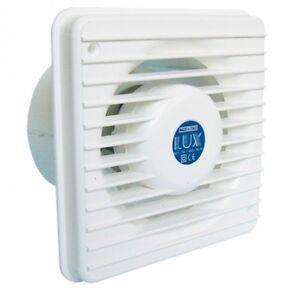 Aspiratore aereatore elettrico vortice aria lux t100 areazione ventola bagno cuc ebay - Aspiratore bagno vortice silenzioso ...