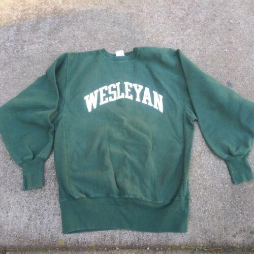 1980s Weslyan College Champion Reverse Weave  Vint