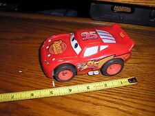 "Mattel 1/32 ? 5 1/4"" 2005 Dinseys Cars Lightining McQueen Race Car Noise Maker"