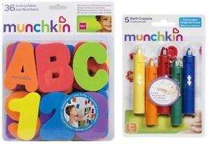 Munchkin-Bano-Letras-y-Numeros-juego-de-Lapices-de-Colores-Bano-Juguete-Edad-adecuada-de-bano-3