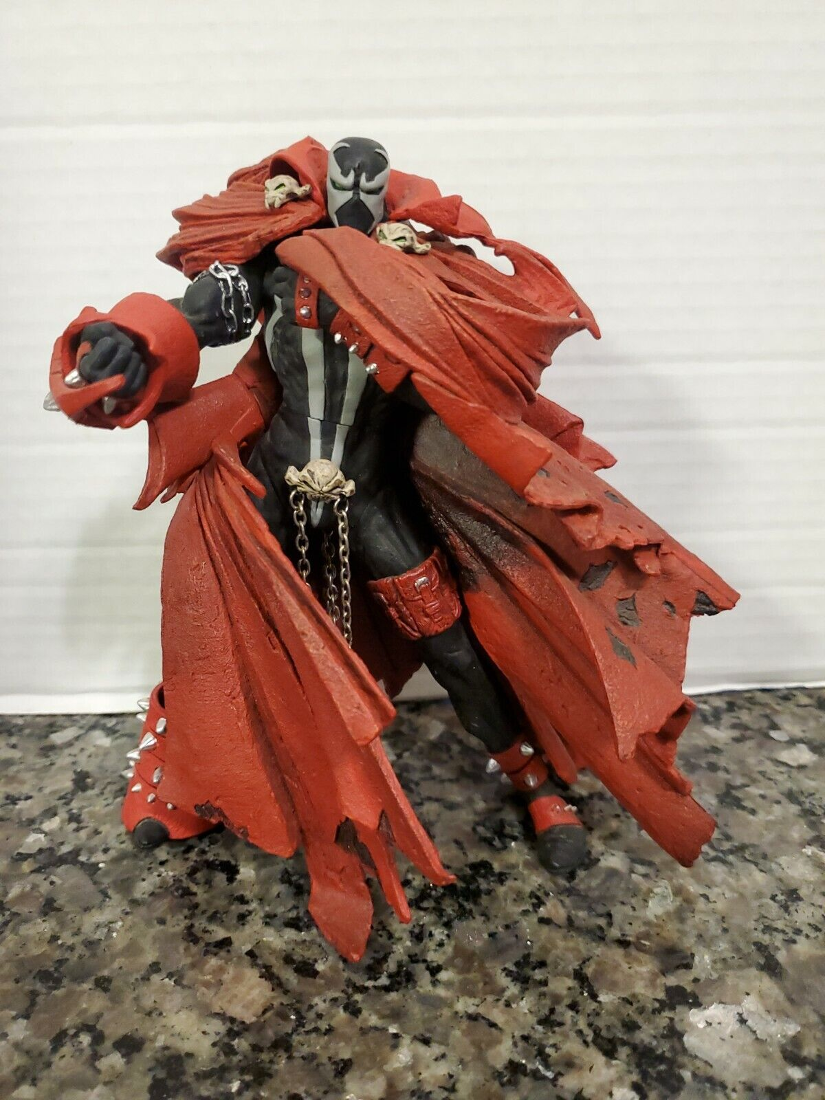 McFarlane Spawn 8 Issue 95 Series 25 Classic Comic Covers Loose  on eBay thumbnail