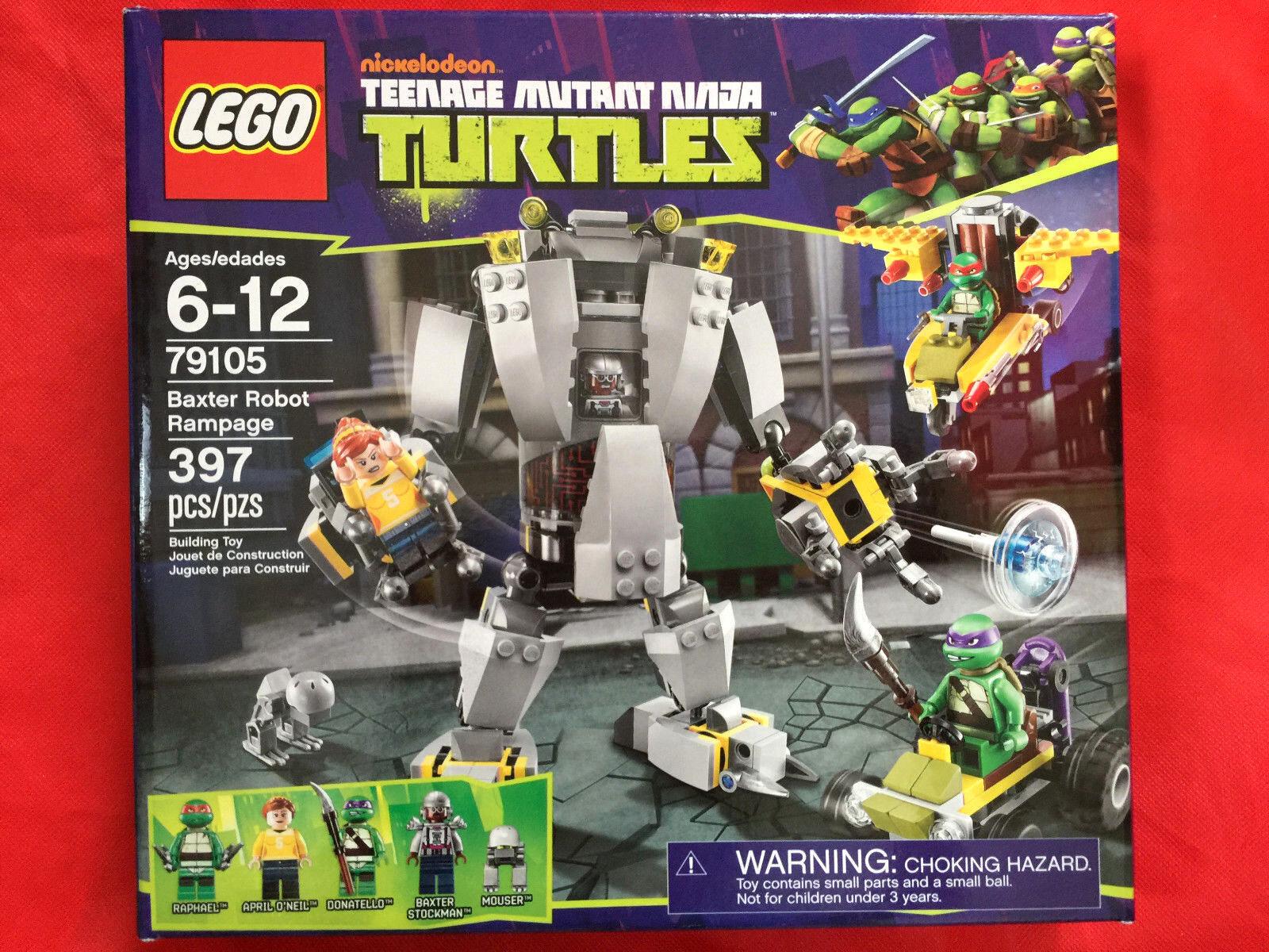 LEGO Teenage Mutant Ninja Ninja Ninja Turtles TMNT BAXTER ROBOT RAMPAGE 79105 NEW SEALED bdc601