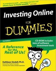 Investing-Online-for-Dummies-by-Kathleen-Sindell-1999-Paperback