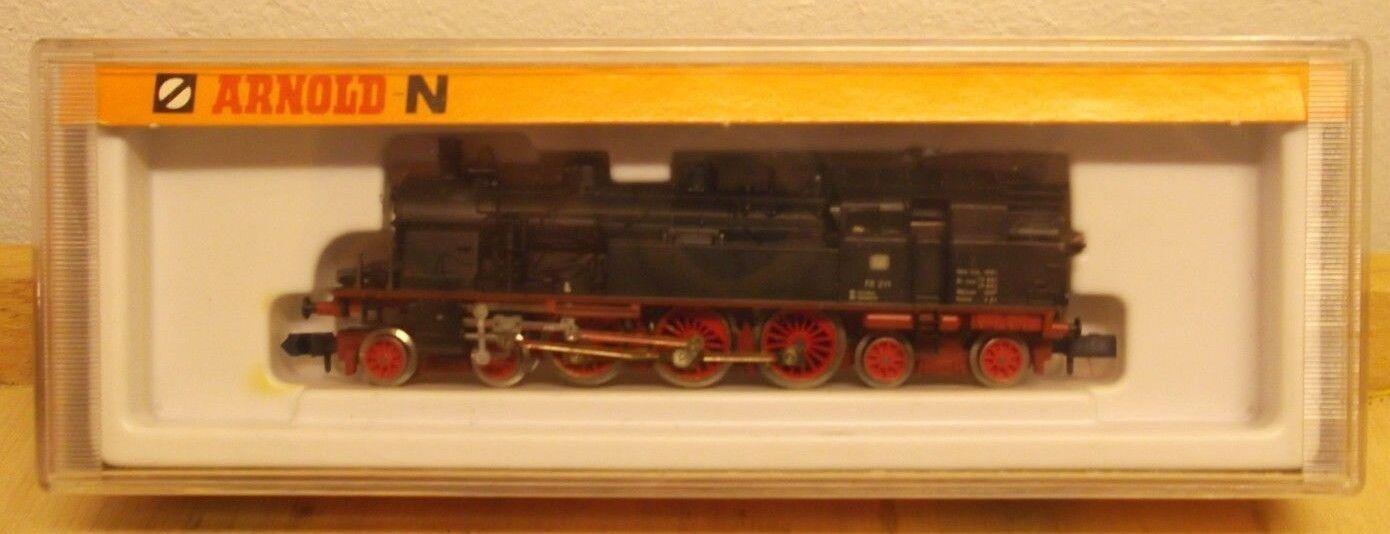 Arnold N 2270 locomotiva BR 78 211 illuminato immacolato esaminato in scatola originale