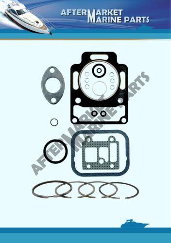Volvo Penta MD1B MD2B MD3B decarb kit replaces 876377 std piston ring 875498