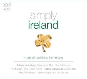 Simply-Ireland-4-CD-NUOVO