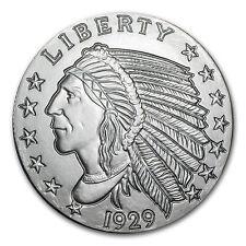 5 oz Silver Indian Head Round - Incuse Indian Head Design - SKU #57094