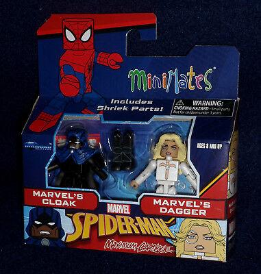 Marvel Minimates Series 76 Maximum Carnage Cloak /& Dagger DST New In Stocks
