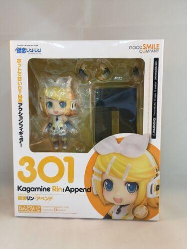 Append Nendoroid Action Figure Kagamine Rin Good Smile Vocaloid