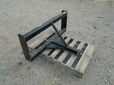 Reese Hitch Skid Steer Attachment Trailer