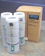 Set of 3 Black Toner Cartridges for Minolta EP-3050, 4050