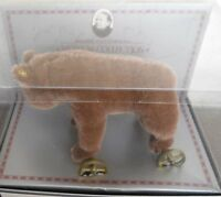 Steiff Bear On Wheels Museum Collection Ean 0085/12 In Box