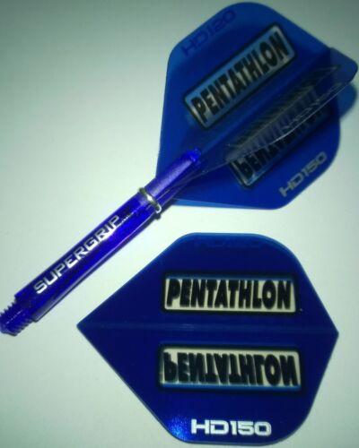 Ruthless HD 150 Longlife Power Dart Flights 9 Set Flys 11 Farben 27 Pentathlon