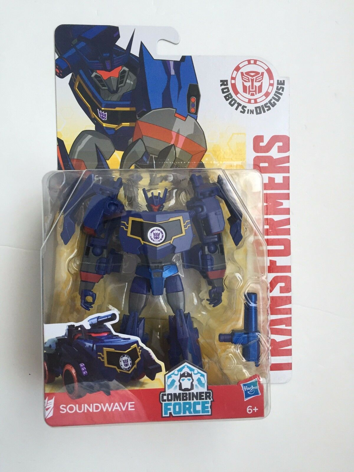 Transformers Hasbro RID Warrior Class Soundwave new rolfia4368