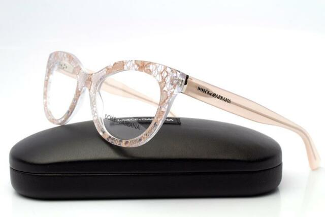 1c93917a1924 New Dolce   Gabbana DG 3197 Eyeglasses Frames Powder Lace 2856 Authentic  51mm