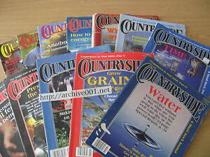 Countryside-amp-Small-Stock-Journal-1999-2000-LOT-Goats-Soil-Homesteading-Garden