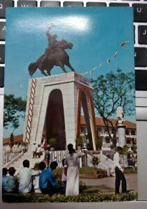 Saigon Monument of General Tran Nguyen Han Vintage Postcard, printed in HK