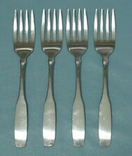 Oneida PAUL REVERE Community Stainless set of 4 Tea Spoons GOOD Condition