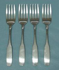 Oneida PAUL REVERE Community Stainless set of 4 Tea Spoons GOOD Condition