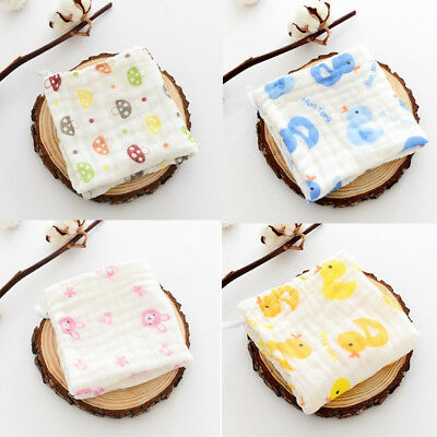 Baby Bibs Towel Cotton soft saliva towel Toddler Lunch Bibs Burp Clothes 1pc