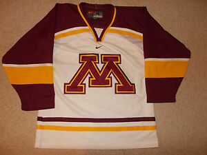 Fan Apparel & Souvenirs 2000s University Of Minnesota Gophers Nike Team Hockey Jersey Championship Year