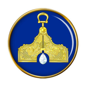 Maconnique-Gite-Senior-Warden-Broche-Badge